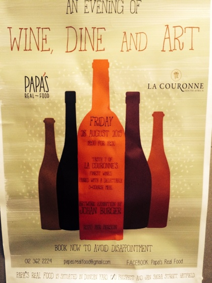 Wine, Dine and Art