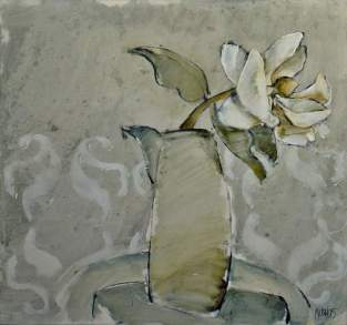 Magnolia 2005 74x79 Oil on board