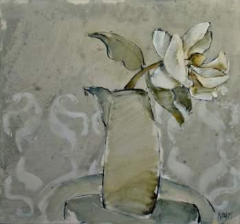 Magnolia 2005 74x79 Oil on board