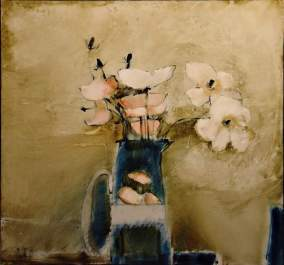 Papawers 1995 80x85 Oil on canvas