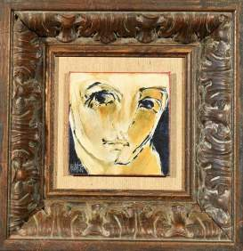 Portret 2002 12x12 Oil on canvas/board