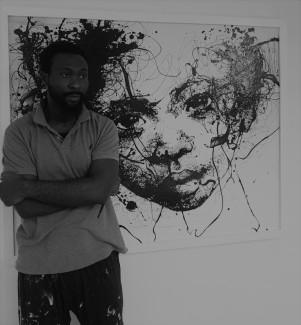 Artist's photo BW